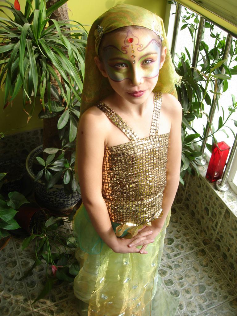 Elyssia on Halloween 2007