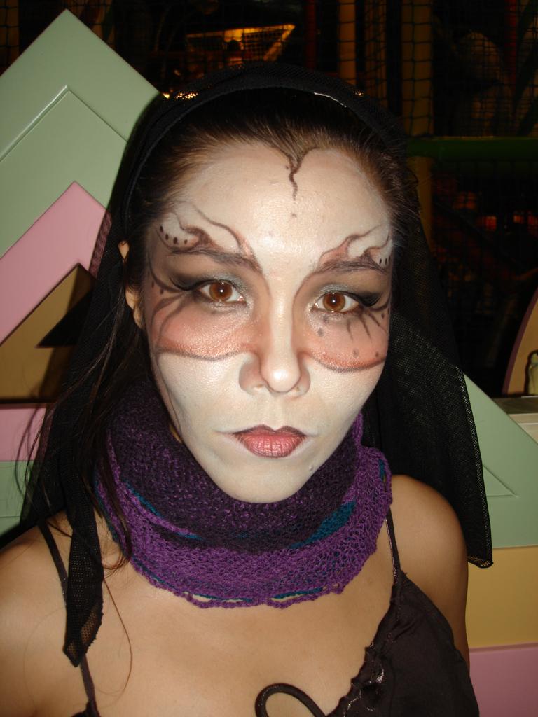 Salomae on Halloween 2007