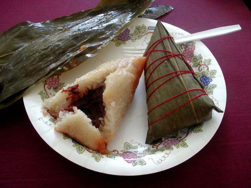 Zongzi is popular on Duanwujie